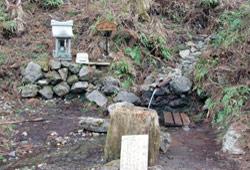 生川の延命水